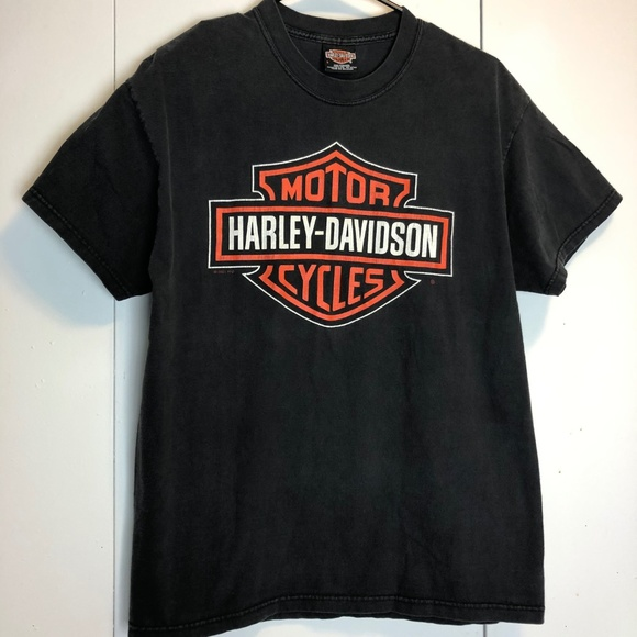 Harley Davidson Seattle >> Harley Davidson Seattle 2000 Vintage T Shirt